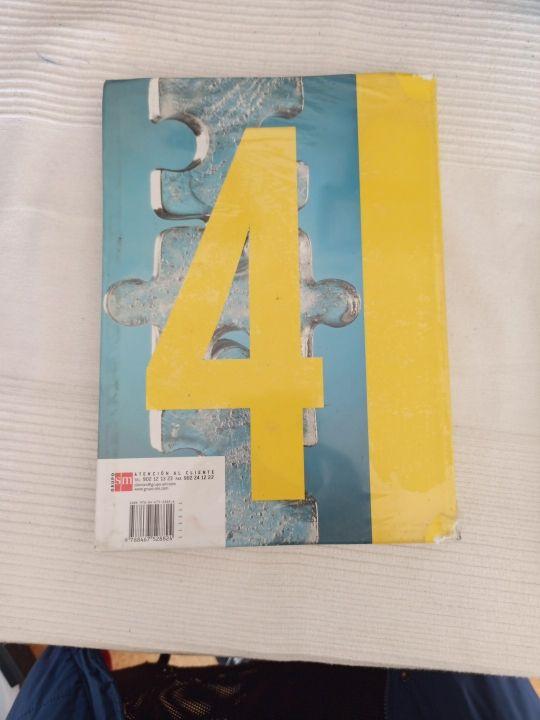 libro de matemáticas 4°de eso editorial abaco