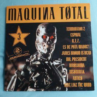 DISCO VINILO MAQUINA TOTAL 3 MEGAMIX MAKINA DANCE