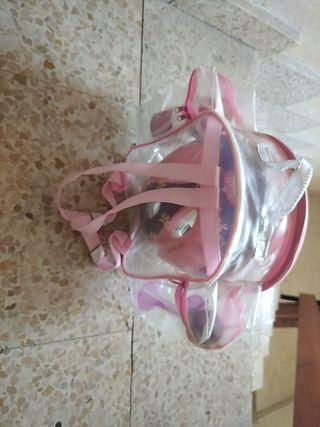 bolsa con accesorios para la bici