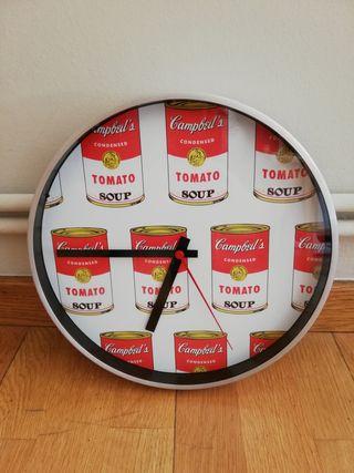 Reloj Andy Warhol Tomato soup