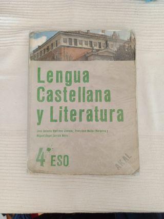 libro 4°de eso lengua castellana y literatura