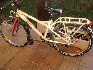 Bicicleta de paseo para niñas de 14-16 años