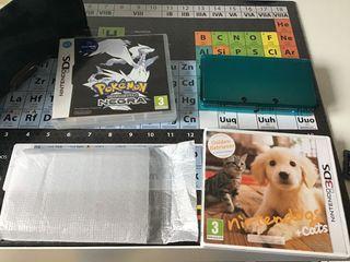 Pack Nintendo 3DS/ Nintendogs/ Pokemon
