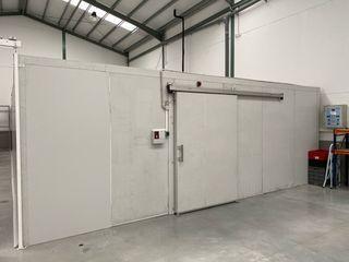 Cámara frigorífica industrial