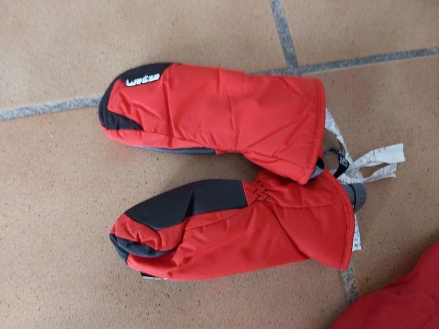 Mono Nieve 5años + 2 pares guantes