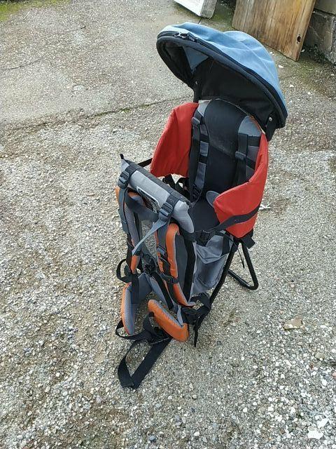 Mochila excursión para bebé.