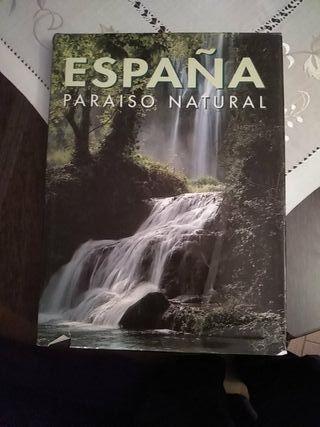 Libro Tapa Dura España Paraíso Natural