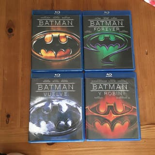 Lote películas bluray Batman