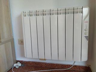 Radiador eléctrico. Emisor térmico. 1000 W