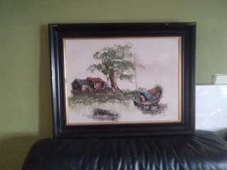Cuadro óleo sobre lienzo