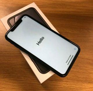 Black iPhone XR