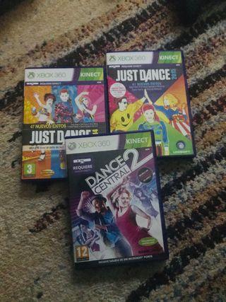 Juegos JustDance XBOX360