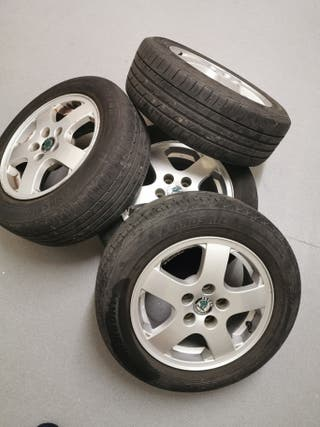 "Alloy Wheels 15"" Skoda Fabia Mk1 2002/03"
