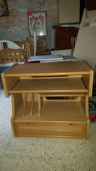 escritorio tradicional bandeja extraíble