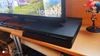 PS4 + Mando + DBZ Kakarot + MotoGP19 + Horizon