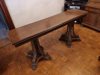 Mesa extensible madera maciza
