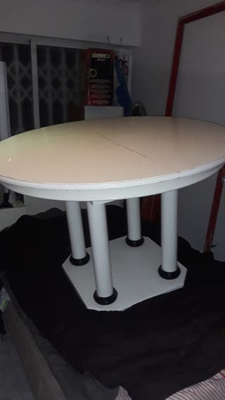 mesa redonda expansible