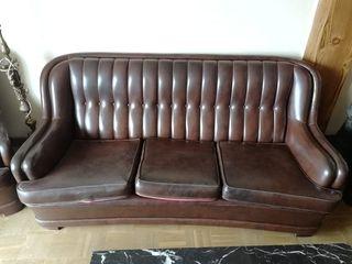 Conjunto sofá y dos sillones