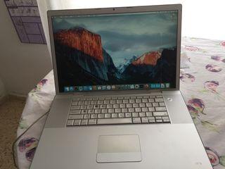 Macbook Pro de 17 pulgadas para reparar