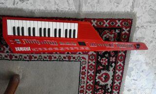 Teclado Keytar Yamaha Shs 10 Japonés Rojo
