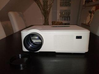 proyector cine casa HD Led+pantalla