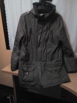 Pepe jeans .abrigo con capucha .