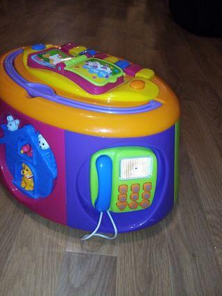 MANIBUL - boîte d'activités sonores 1er âge à 3 an