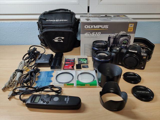 Cámara de fotos Olympus E-520
