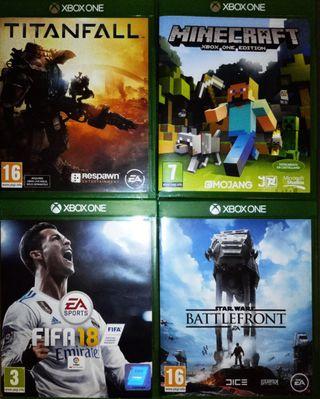 4 videojuegos de la XBox One