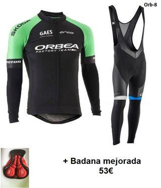 Equipación termal Orbea + badana mejorada t.XL