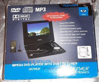Denver pantalla 7.1 tv i dvd integrado