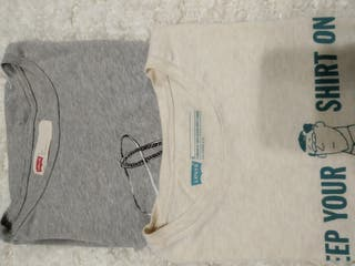 Lote 2 camisetas chico Levi's talla M