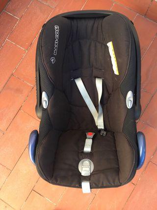 Silla Coche Grupo 0 Marca Maxicosi CabrioFix Negro