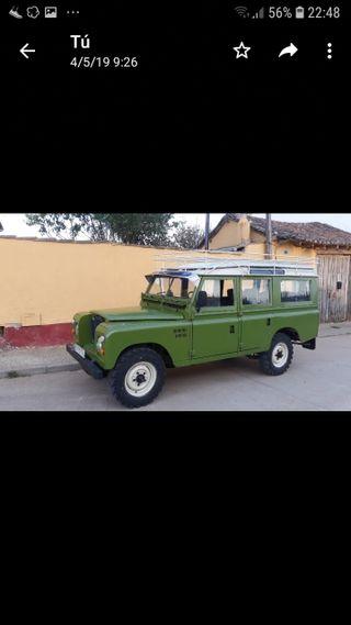 Land Rover santana serie 3 109 especial 1977