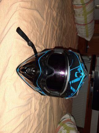 casco de moto cross fox