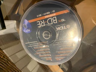 Dvd Blu Ray regrabable 25 Gb