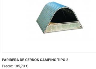 Casetas camping parideras