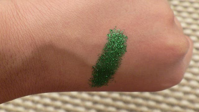 Green Pressed Eye Glitter More Colours Available!
