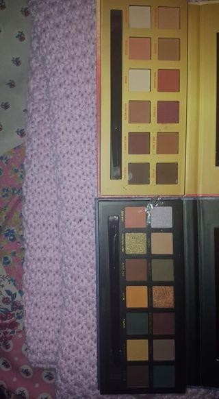 W7 Eyeshadow Palettes x2