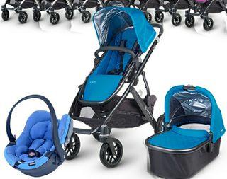 carrito bebe capazo + silla + coche