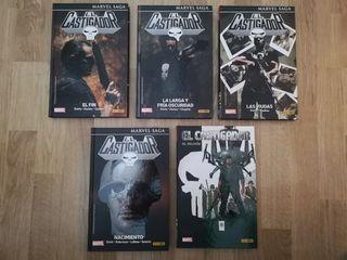 El Castigador Marvel 5 tomos deSaga de Garth Ennis
