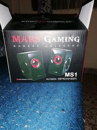 altavoces Mars gaming