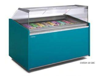 Vitrina expositora para helados