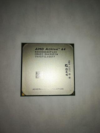 Procesador AMD athlon 64 3000+ socket 754 1 nucleo