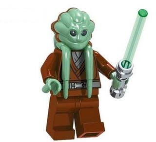 Kit Fisto minifigures Star Wars Lego Compatible