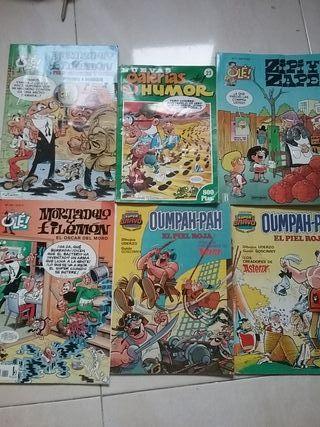 cómics Mortadela y Filemón, zipi zape