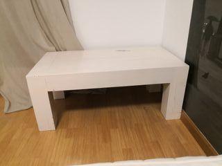 Mesa de madera maciza Maisons du Monde