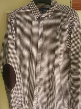 Camisa hombre Zara slim T 42