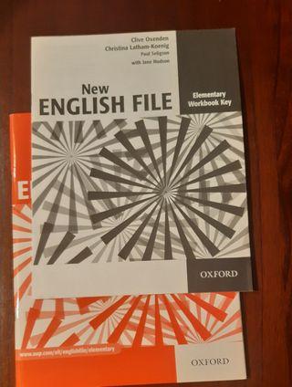 LIBRO NEW ENGLISH FILE, OXFORD