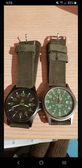Relojes estilo Militar